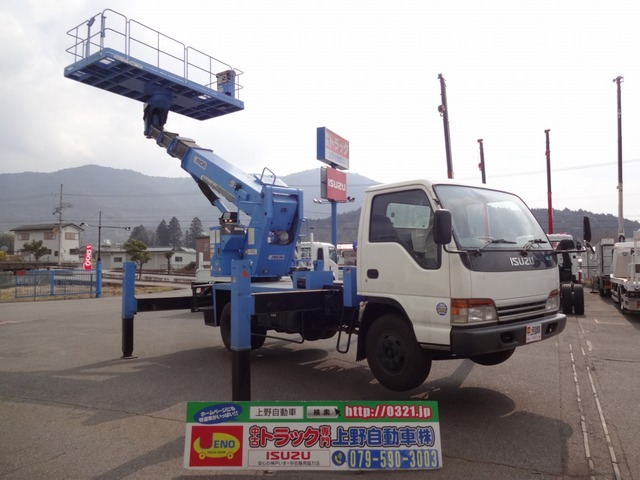 いすゞ エルフ 高所作業車 アイチ スカイマスター 高さ15.7m