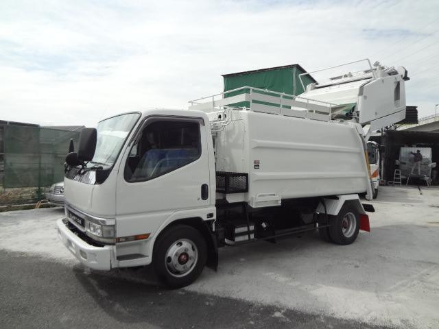 三菱ふそう キャンター パッカー車 H12 プレス 2.5t 6.3M3