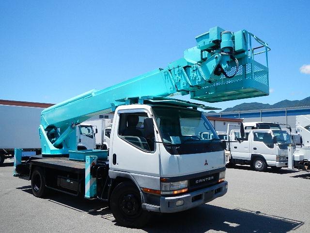 三菱ふそう キャンター 高所作業車 H12 アイチ SK210 21.2m