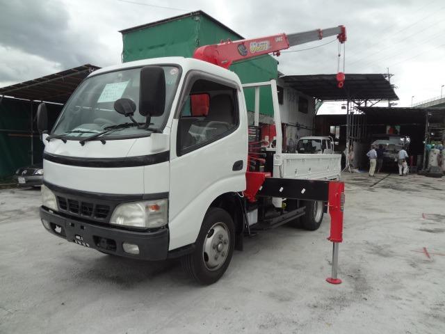 トヨタ ダイナ クレーン H17 3段 ラジコン AT車 11尺
