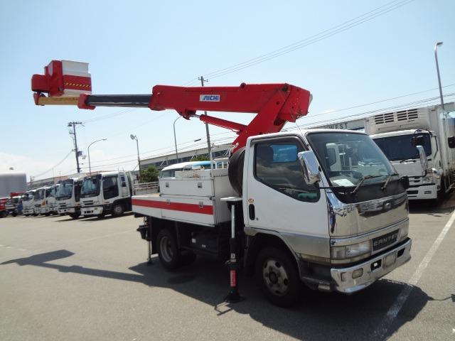 三菱ふそう キャンター 高所作業車 H12 SH106 ワンピン 10.6m