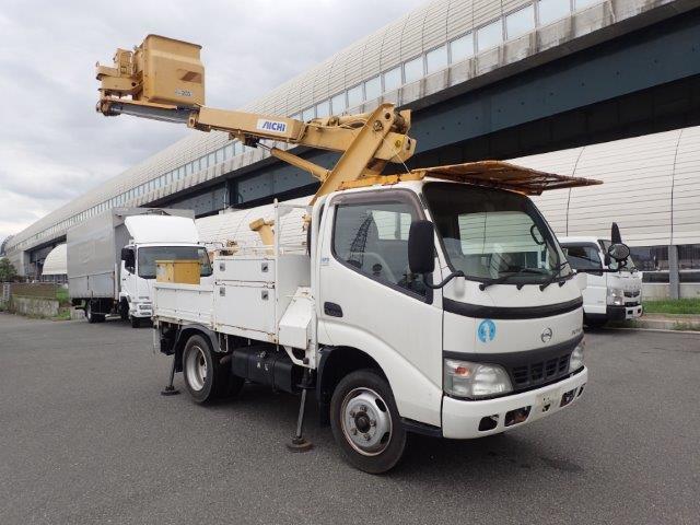 日野 デュトロ 高所作業車 H18 SH081 8m 5.6万km
