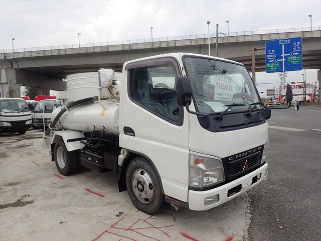 三菱ふそう キャンター バキュームカー H18 1.8t モリタ VAR418H