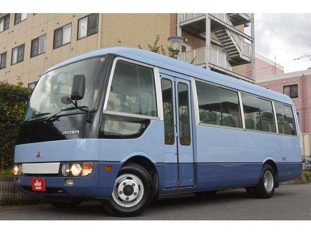 三菱ふそう ローザ バス 自動折戸ドア・ナビ・TV・29人乗