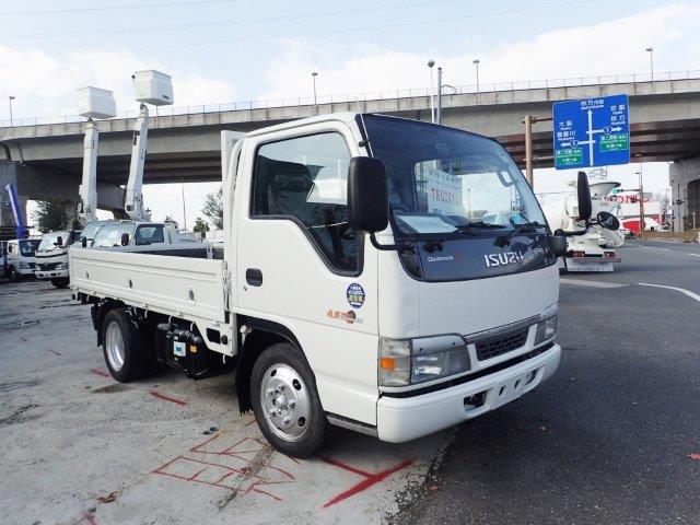 いすゞ エルフ トラック H16 平ボディ 2t 低床 塗装済