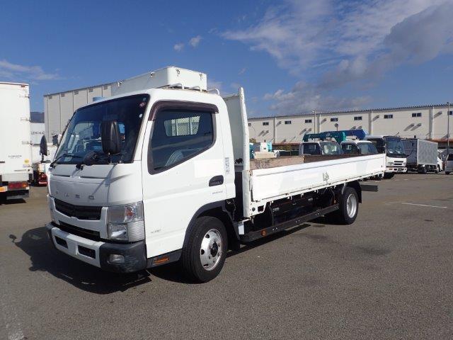 三菱ふそう キャンター トラック H23 3.5t 超ロング 平 塗装済