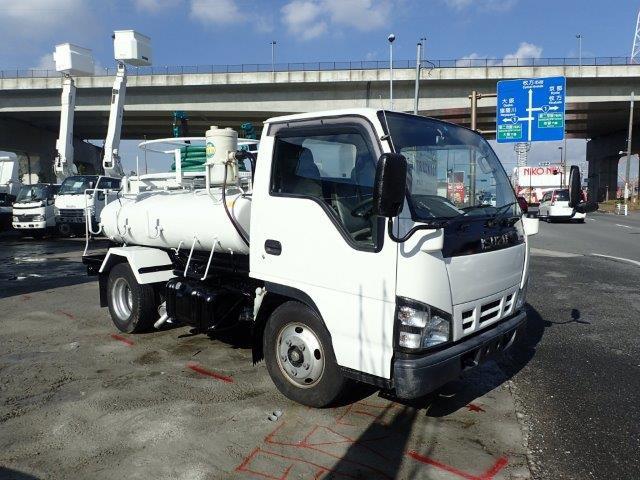 いすゞ エルフ バキュームカー H18 1.8t モリタ 塗装・整備済