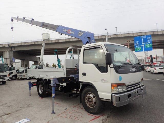 いすゞ エルフ クレーン H13 6段 Rジャッキ 3.5t