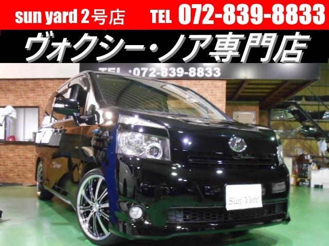 トヨタ ヴォクシー X DVDナビDVDビデオ 新品サス 新品19AW新品タイヤ