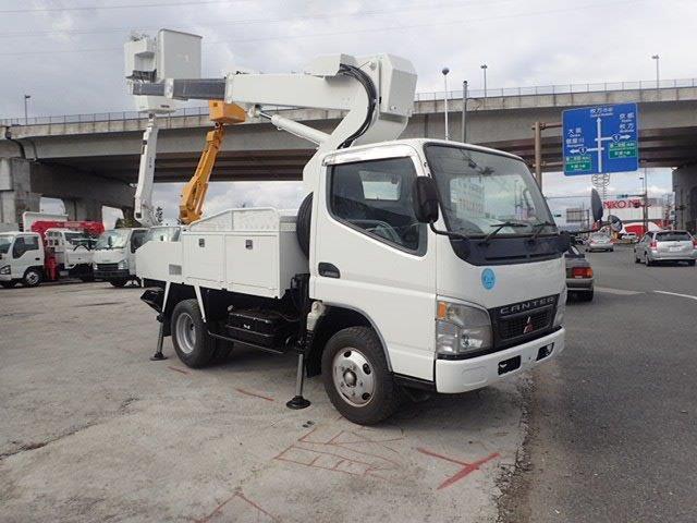 三菱ふそう キャンター 高所作業車 H16 9.9M TS-100 電工仕様