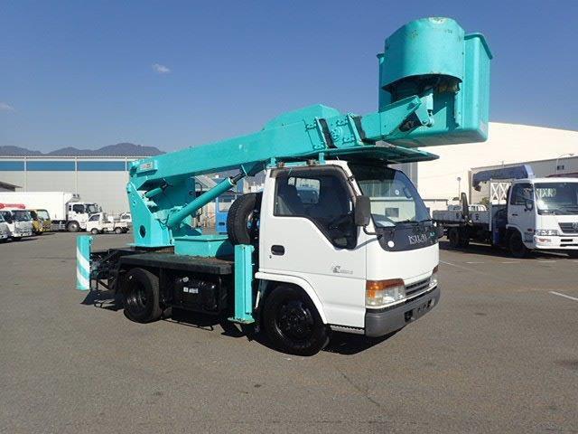 いすゞ エルフ 高所作業車 H11 SK12A 12.5M 走行少