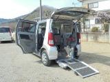マツダ AZ-ワゴン XG i スロープ式車いす移動車 リアシート付