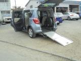 トヨタ ラクティス 1.3 X ウェルキャブ 車いす仕様車スロープタイプ タイプI 助手席側リアシート付