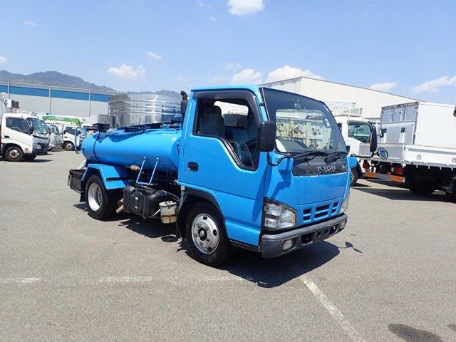 いすゞ エルフ バキュームカー H18 1.8t VAR418H モリタ