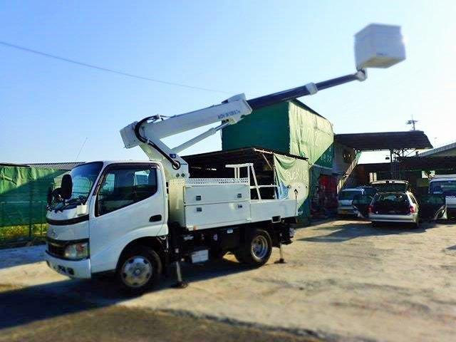日野 デュトロ 高所作業車 H18 SK10B 9.7M 電工仕様