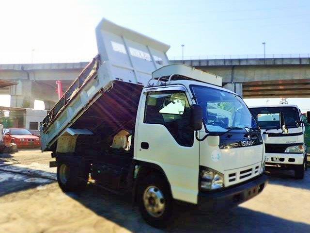 いすゞ エルフ ダンプ H17 4t 強化 7万km ワイド