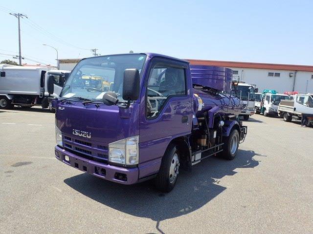 いすゞ エルフ バキュームカー H20 1.8t VAR418K モリタ