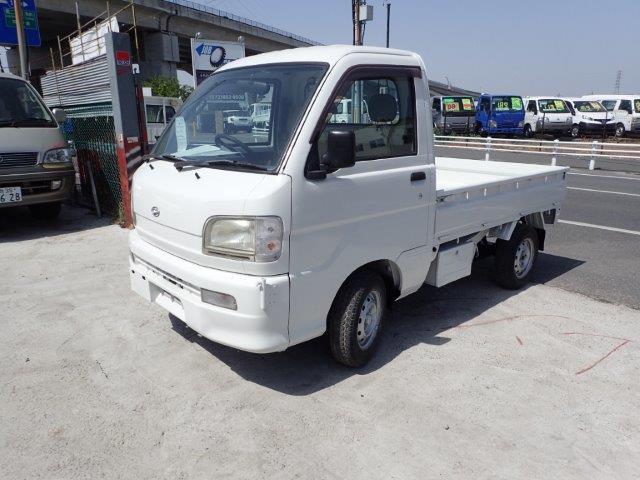 ダイハツ ハイゼットトラック  H11 全塗装済 5F/MT 農作業