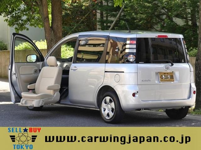 トヨタ シエンタ 1.5 X ウェルキャブ 助手席リフトアップシート車 Aタイプ 7人乗トヨタ整備1オーナー福祉減免可能車