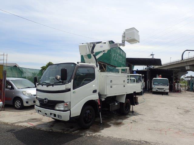 日野 デュトロ 高所作業車 H20 SK10B 4WD 塗装済