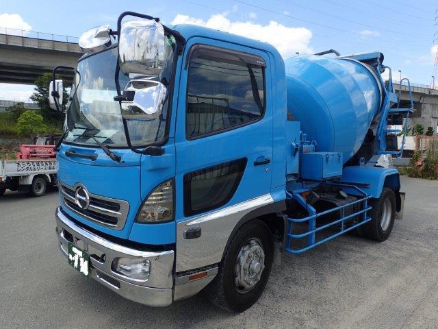 日野 レンジャー ミキサー車 H14 カヤバ 5.6m3 7.12t