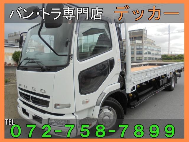 三菱ふそう ファイター  3.7トン 重量物運搬車 荷台塗装