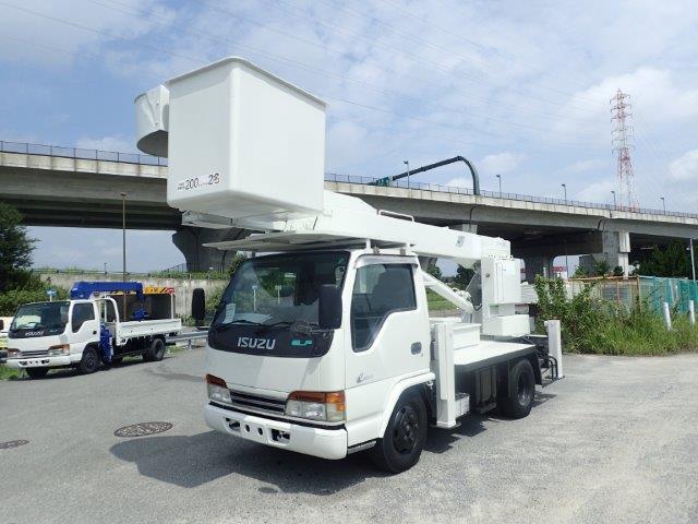 いすゞ エルフ 高所作業車 H12 アイチ SJ12A 12.6m