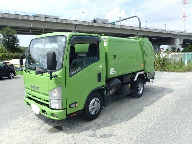 いすゞ エルフ 塵芥車 H20 2.95t 巻込みダンプ式