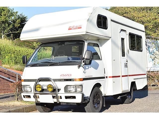 いすゞ ファーゴトラック  MOVILLA製 BIGmini 4WD