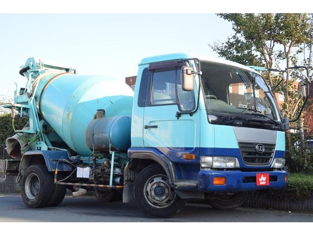 日産ディーゼル コンドル ミキサー車 ミキサー車・3.4立米!積載3.8トン