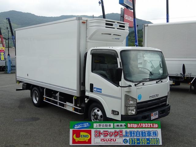 いすゞ エルフ 冷凍車 低温-30℃ ワイドロング 左ドア