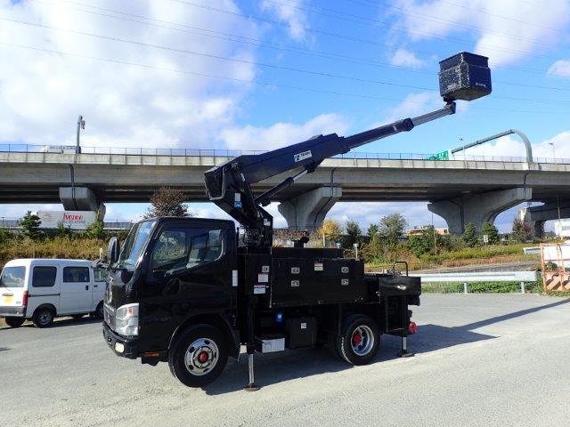 三菱ふそう キャンター 高所作業車 H19 AT-110TTE ワンピン