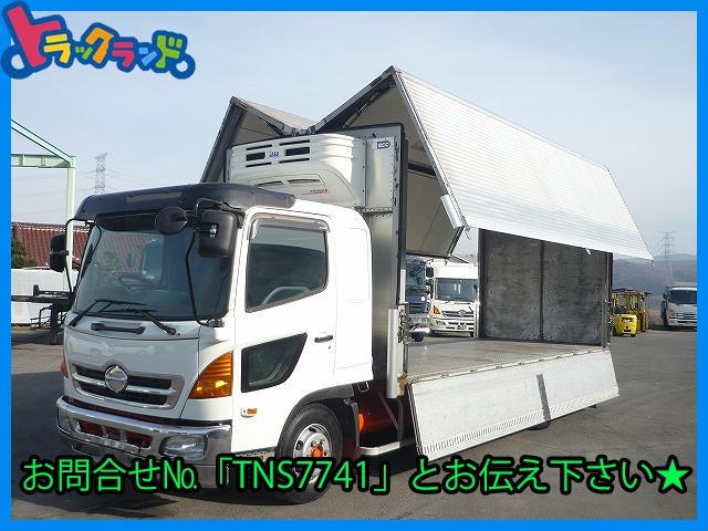 日野 レンジャー  冷凍ウィング 菱重-5度 車検付