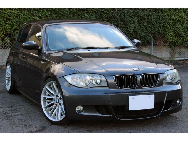 BMW 120i  ローダウン、18アルミ、Mスポバンパー
