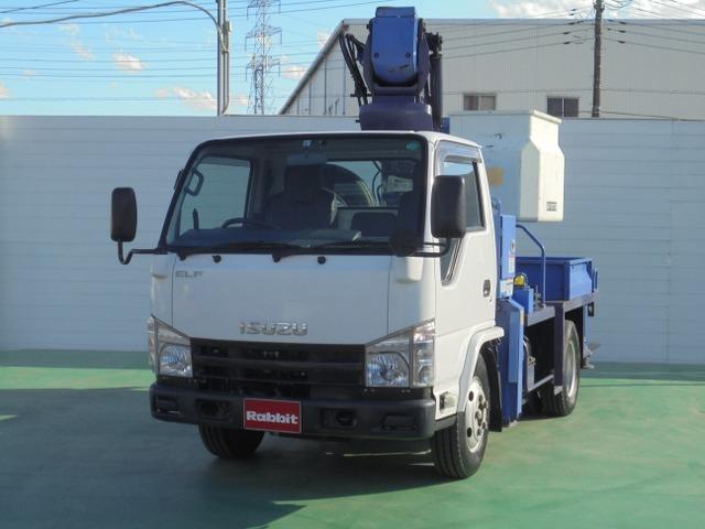 いすゞ エルフ 高所作業車 タダノAT-121 11.9m FRP