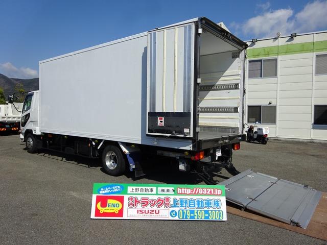 三菱ふそう ファイター 冷凍車 低温仕様 格納ゲート付 2.5t積み