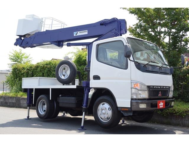 三菱ふそう キャンター 高所作業車 タダノAT-100・3万キロ・5速MT