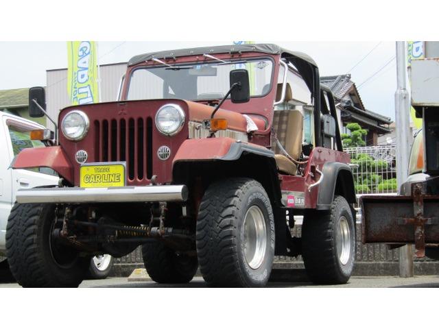 三菱 ジープ 2.7 ディーゼル 4WD パワステ付き