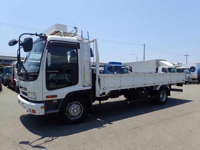 いすゞ フォワード トラック H18 4.35t 平ボディ 荷L575