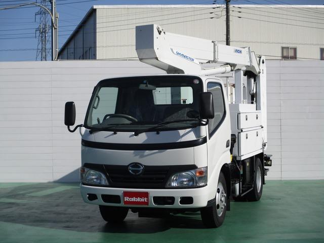 日野 デュトロ 高所作業車 高所作業車 アイチ SE10A 9.9m