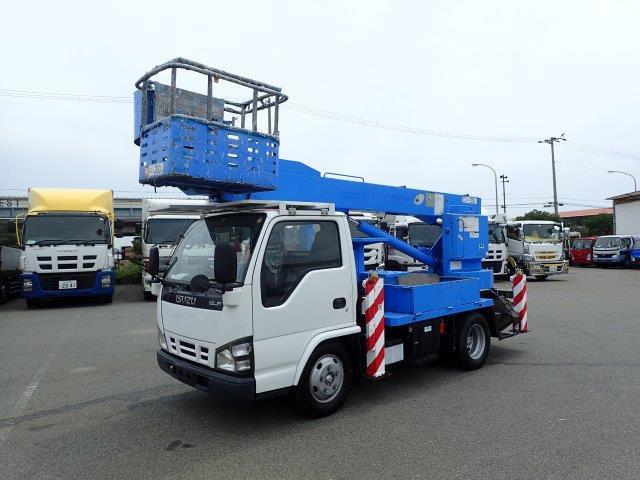 いすゞ エルフ 高所作業車 H17 SK12A 12.5m 走行少