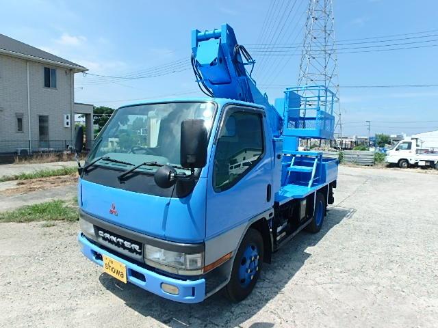 三菱ふそう キャンター 高所作業車 9.9m高所作業車