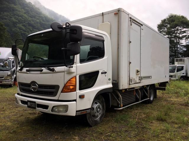 日野 レンジャー 冷蔵冷凍車 冷蔵冷凍 ワイド 車検付 ターボ