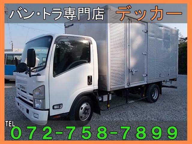 いすゞ エルフ  2tアルミバン荷寸448-207-204