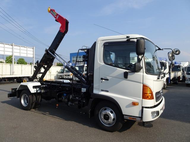 日野 レンジャー コンテナ車 フックロール 標準幅 3.9t積み
