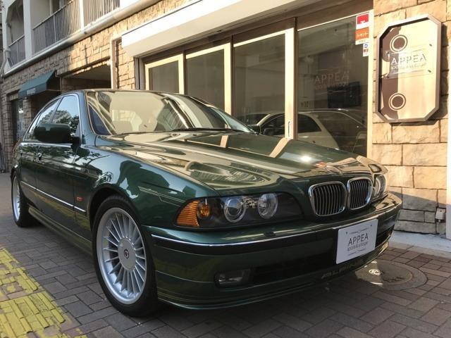 BMWアルピナ B10 V8 左ハンドル 純正ヘッドL左右有 全記録有