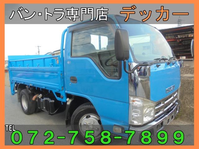 いすゞ エルフ 3.0 フラットロー ディーゼルターボ 2t 荷鉄板 垂直PG荷寸308-161