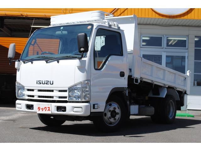 いすゞ エルフ  強化ダンプ 低床 積載3t