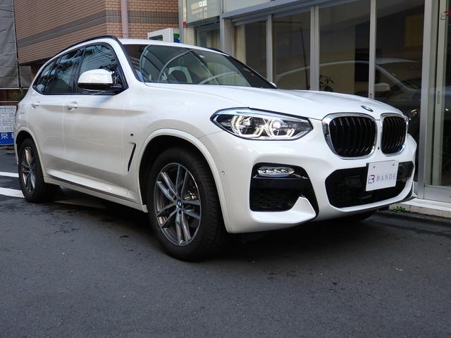 BMW X3 xドライブ20d Mスポーツ ディーゼルターボ 4WD 後期 ETC/DSRC車載器装備