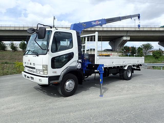 三菱ふそう ファイター クレーン H14 4段ラジコン 10万km 塗装済